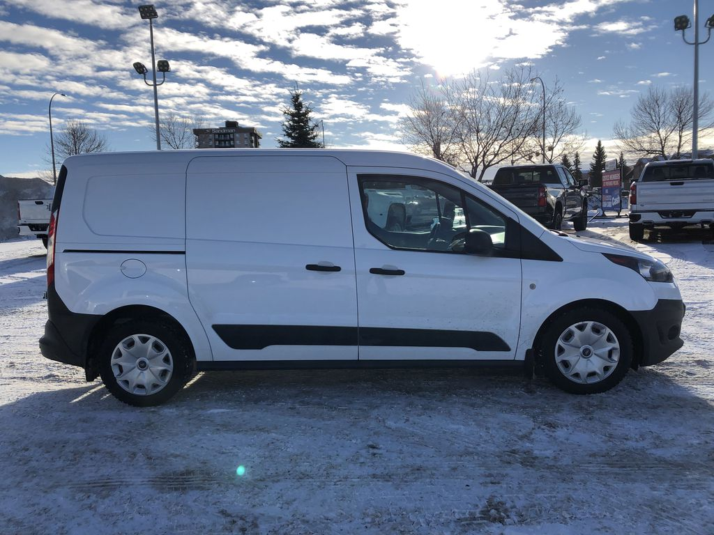 White[Frozen White] 2015 Ford Transit Connect Right Side Photo in Edmonton AB