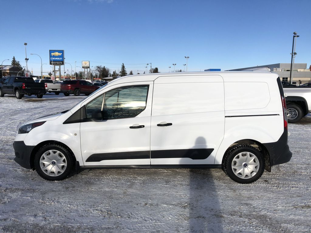 White[Frozen White] 2015 Ford Transit Connect Left Side Photo in Edmonton AB