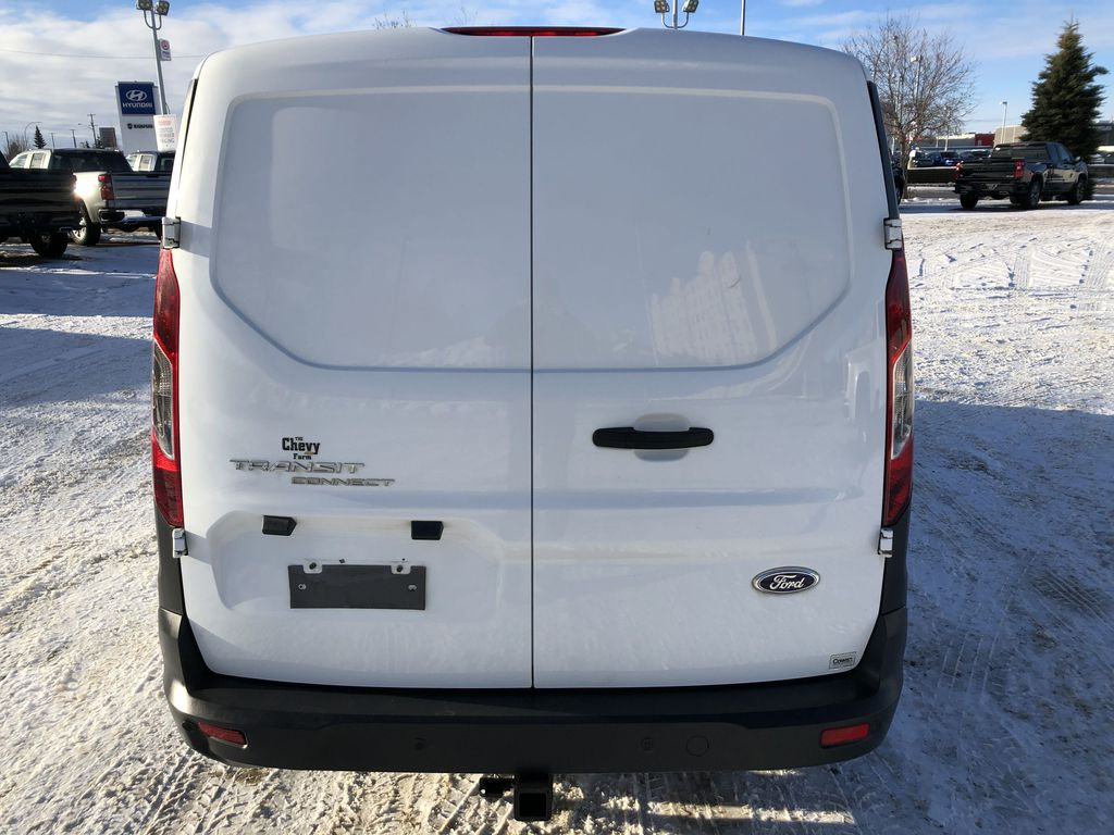 White[Frozen White] 2015 Ford Transit Connect Rear of Vehicle Photo in Edmonton AB