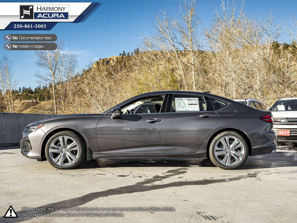 GREY NH-797M 2021 Acura TLX Left Side Photo in Kelowna BC