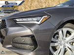 GREY NH-797M 2021 Acura TLX Left Side Rear Seat  Photo in Kelowna BC