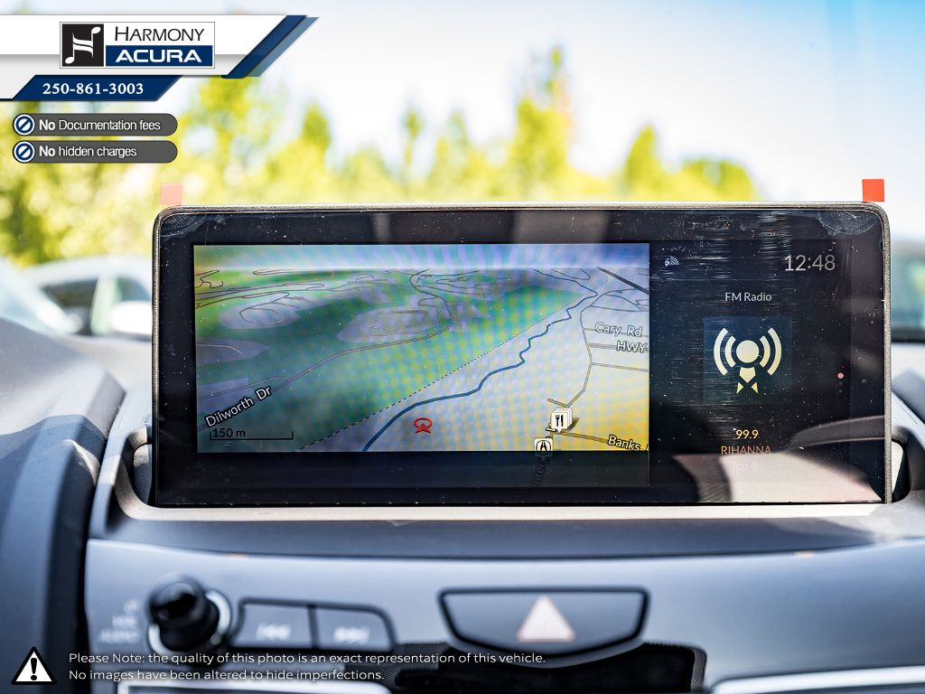 WHITE NH-883P 2021 Acura RDX Left Driver Controlled Options Photo in Kelowna BC
