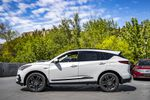 WHITE NH-883P 2021 Acura RDX Left Side Rear Seat  Photo in Kelowna BC