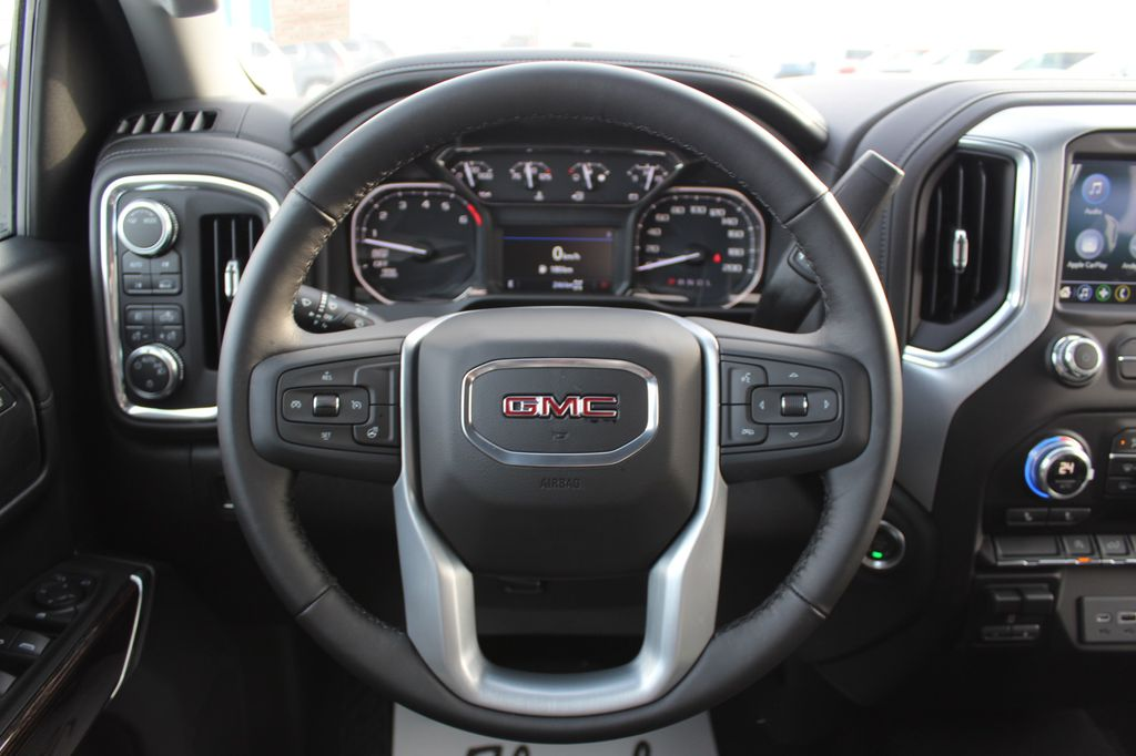 2021 GMC Sierra 1500 Steering Wheel and Dash Photo in Medicine Hat AB