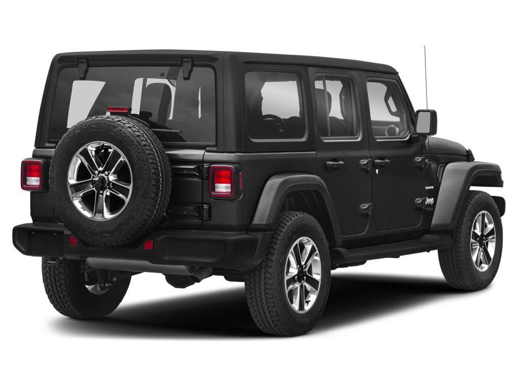 Black 2018 Jeep Wrangler Unlimited Left Front Rim and Tire Photo in Westlock AB