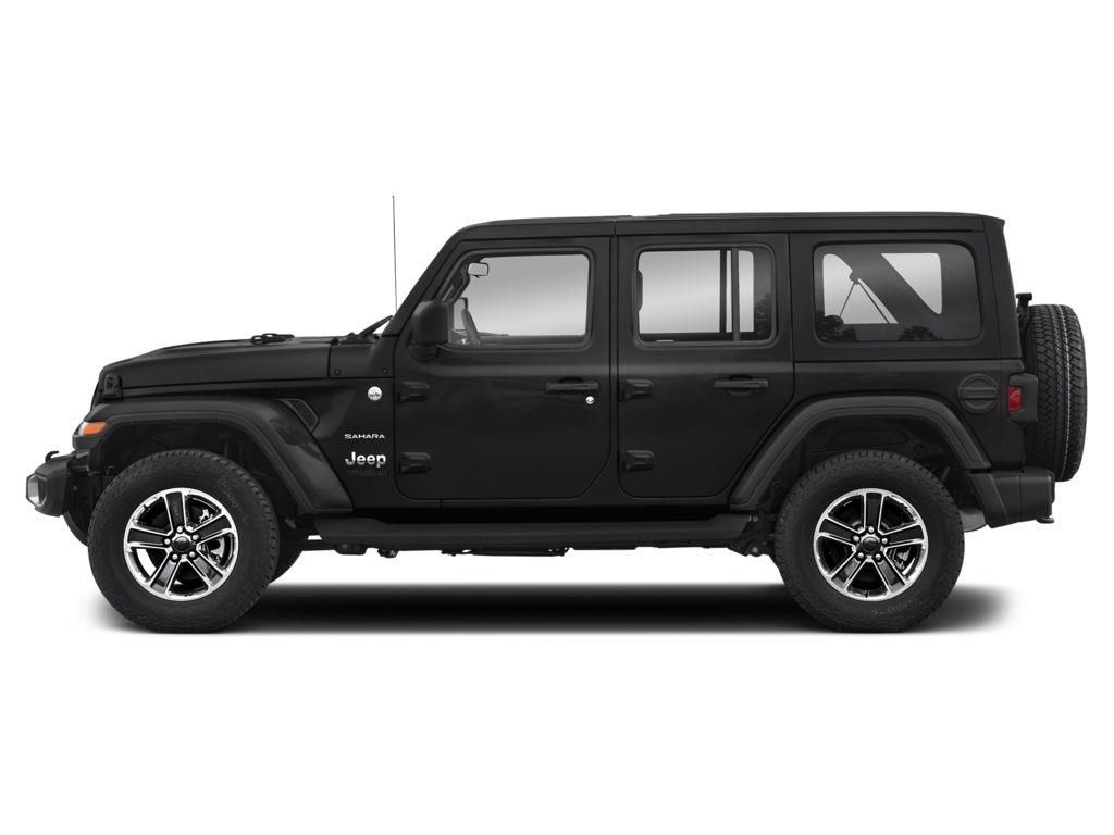Black 2018 Jeep Wrangler Unlimited Left Front Corner Photo in Westlock AB