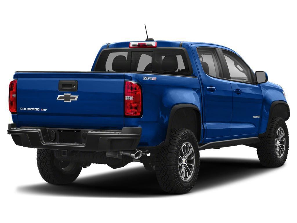 Blue 2019 Chevrolet Colorado Left Front Rim and Tire Photo in Westlock AB