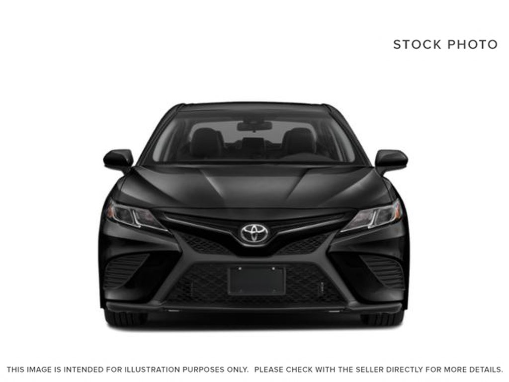 Gray[Pre-Dawn Grey Mica] 2020 Toyota Camry Front Vehicle Photo in Edmonton AB