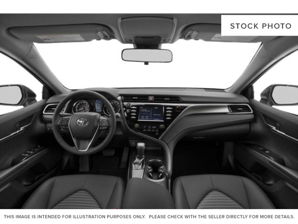 Gray[Pre-Dawn Grey Mica] 2020 Toyota Camry Front Seats and Dash Photo in Edmonton AB