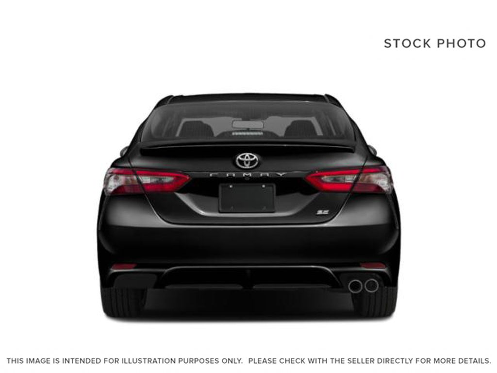 Gray[Pre-Dawn Grey Mica] 2020 Toyota Camry Rear of Vehicle Photo in Edmonton AB