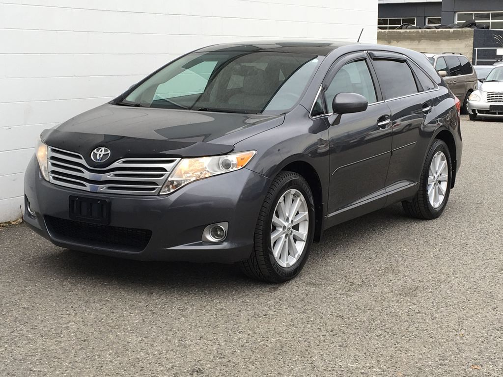 Charcoal 2012 Toyota Venza AWD Left Front Corner Photo in Kelowna BC