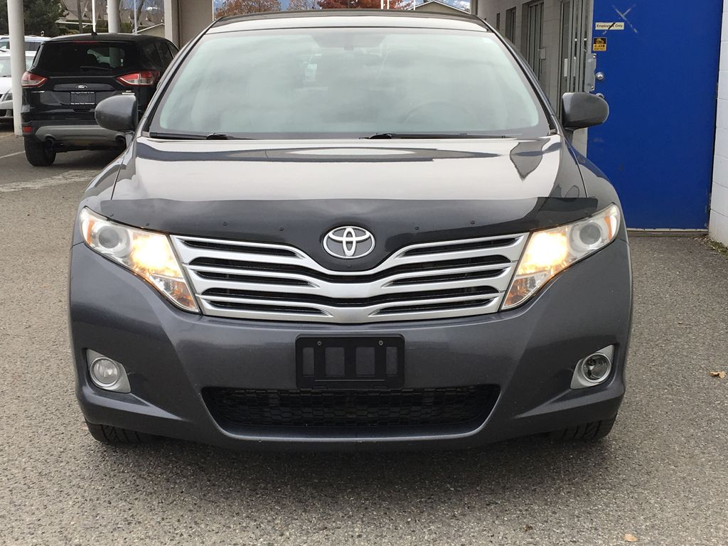 Charcoal 2012 Toyota Venza AWD Front Vehicle Photo in Kelowna BC