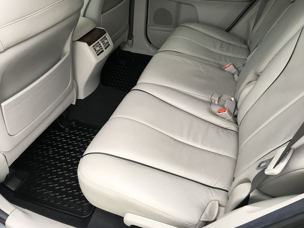 Charcoal 2012 Toyota Venza AWD Right Side Rear Seat  Photo in Kelowna BC