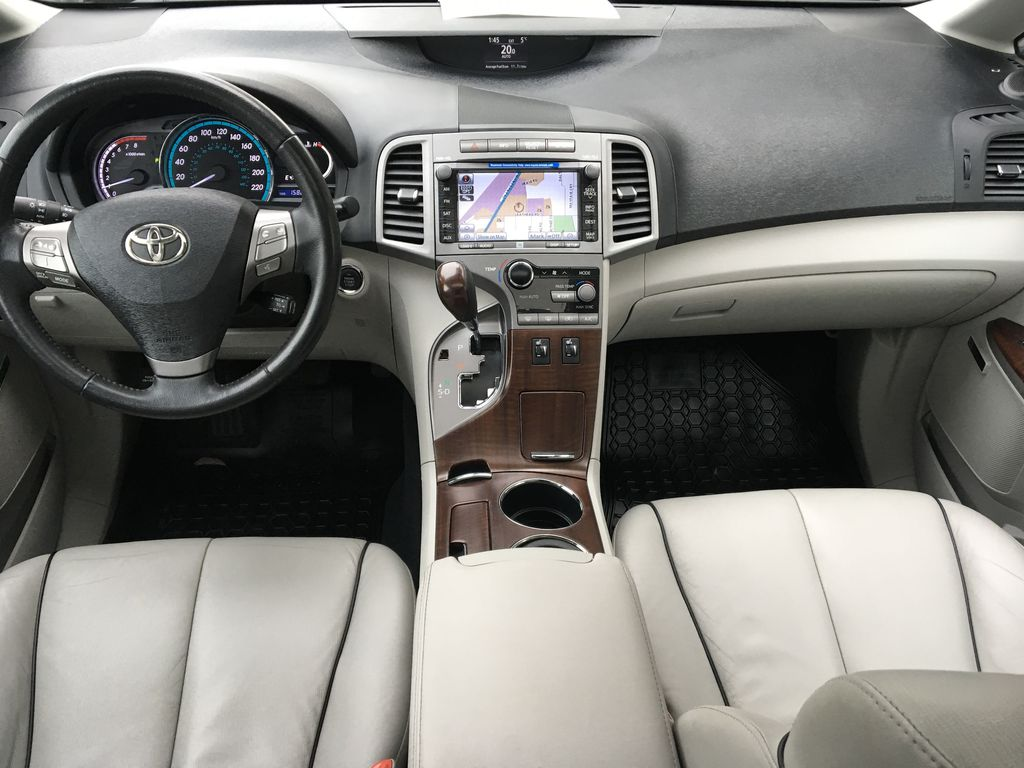 Charcoal 2012 Toyota Venza AWD Main Interior Photo in Kelowna BC