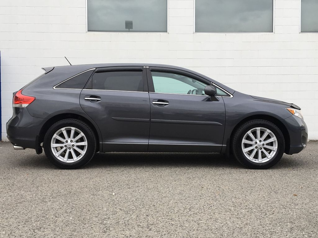 Charcoal 2012 Toyota Venza AWD Right Side Photo in Kelowna BC