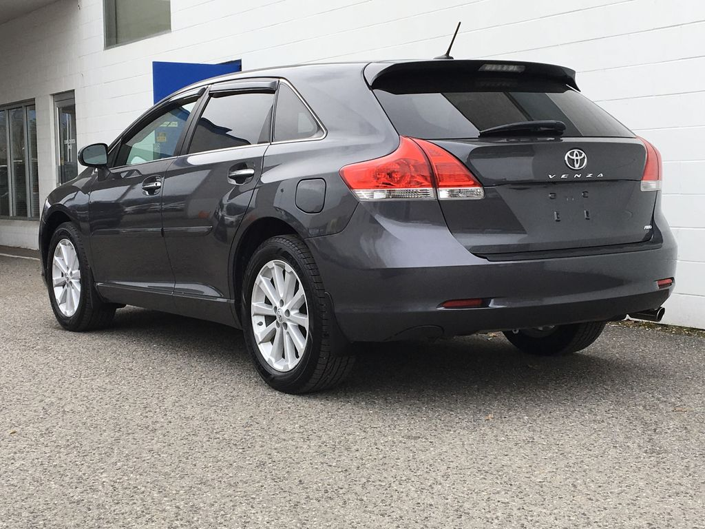 Charcoal 2012 Toyota Venza AWD Left Rear Corner Photo in Kelowna BC