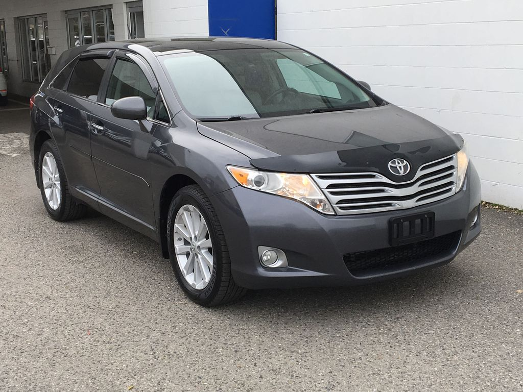 Charcoal 2012 Toyota Venza AWD Right Front Corner Photo in Kelowna BC
