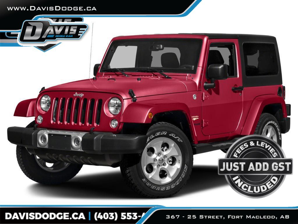 Red 2015 Jeep Wrangler