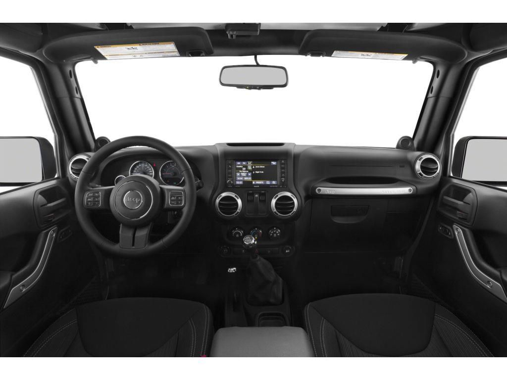 Red 2015 Jeep Wrangler  Driver's Side Door Controls Photo in Fort Macleod AB