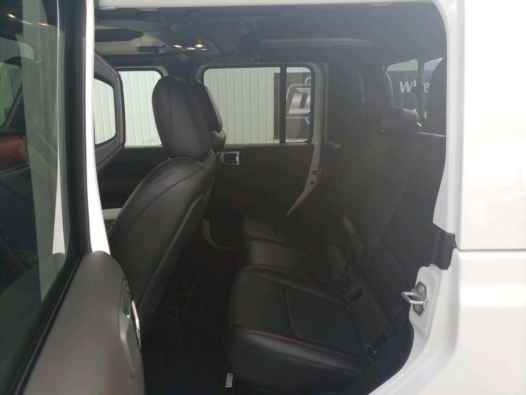 White 2021 Jeep Gladiator Left Rear Interior Door Panel Photo in Fort Macleod AB
