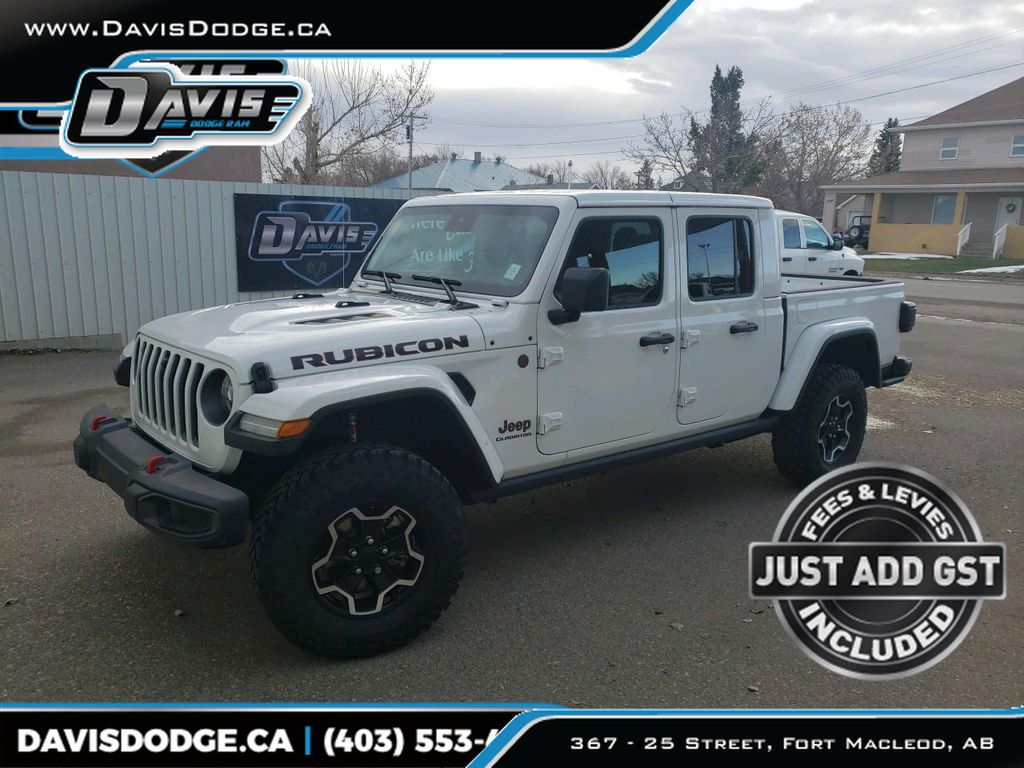 White 2021 Jeep Gladiator