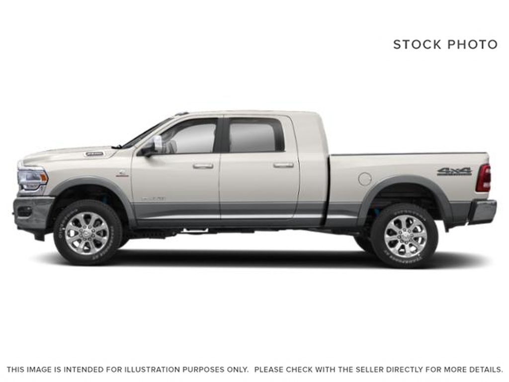 White[Pearl White] 2020 Ram 2500 Left Side Photo in Fort Macleod AB