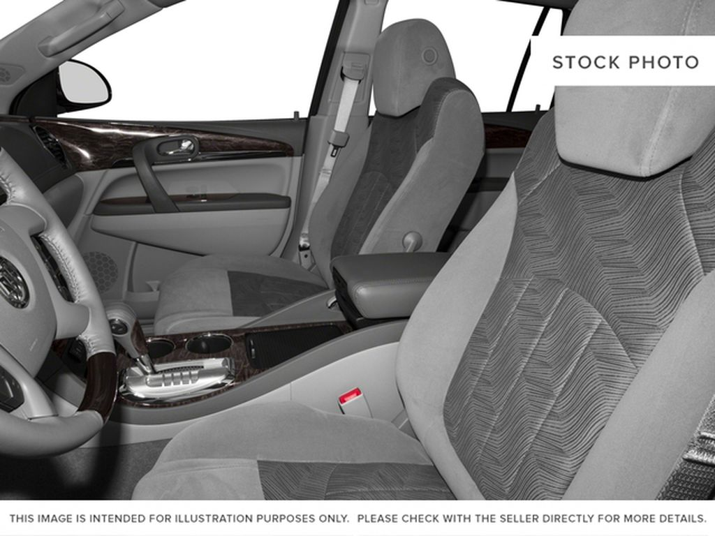 Silver 2017 Buick Enclave Left Front Interior Photo in Medicine Hat AB