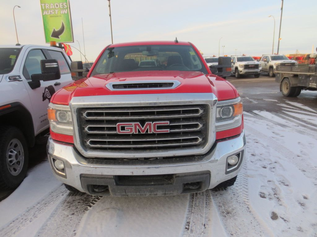 Red 2019 GMC Sierra 3500HD Left Front Rim and Tire Photo in Lethbridge AB