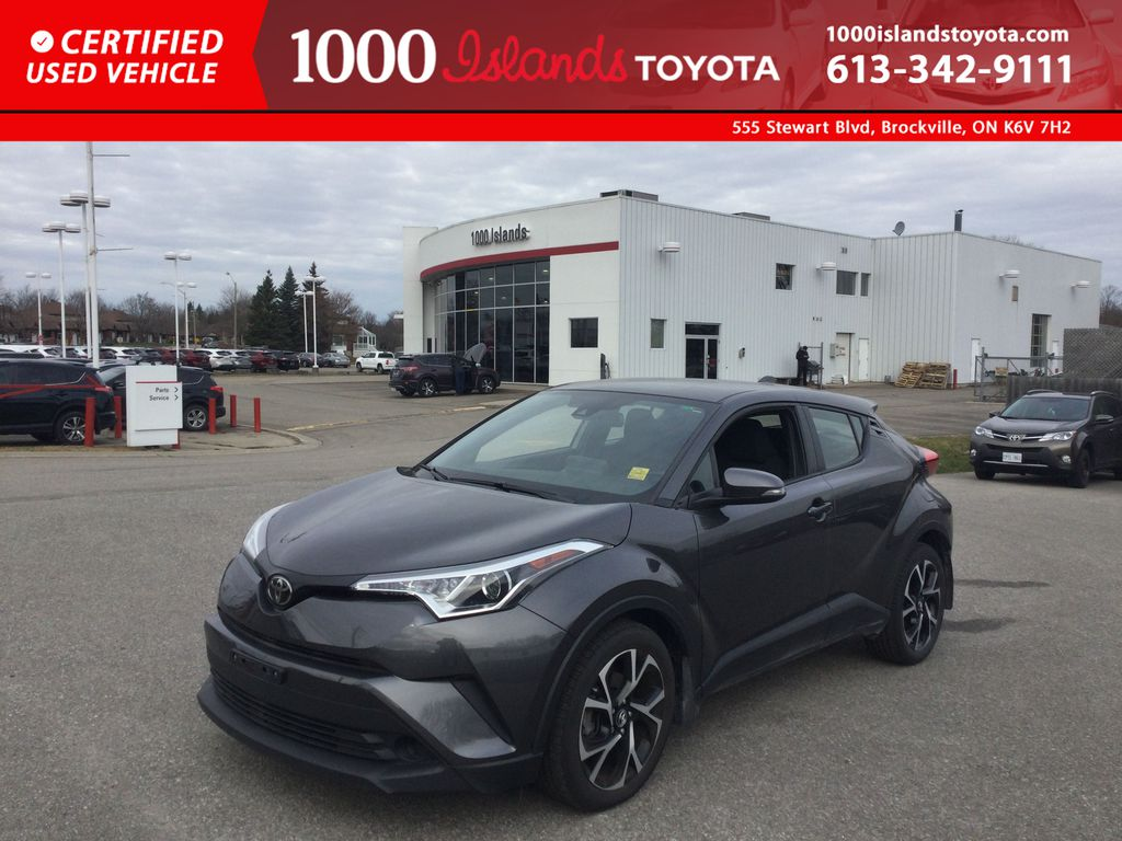 Gray[Magnetic Grey Metallic] 2019 Toyota C-HR