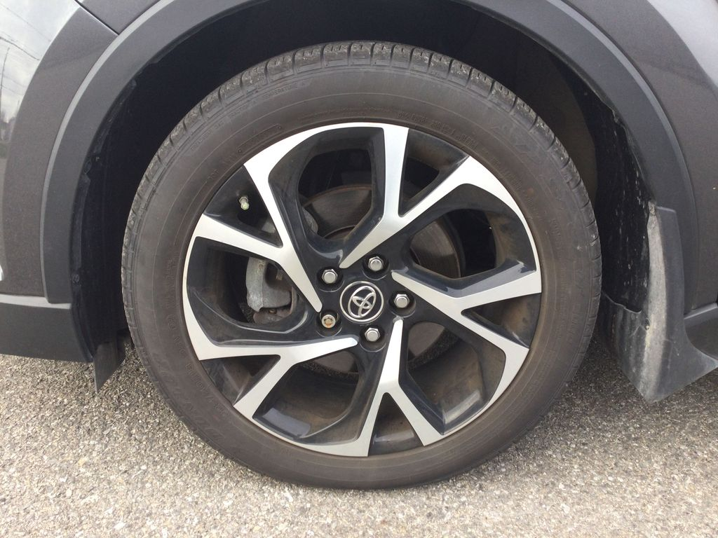 Gray[Magnetic Grey Metallic] 2019 Toyota C-HR Left Front Rim and Tire Photo in Brockville ON