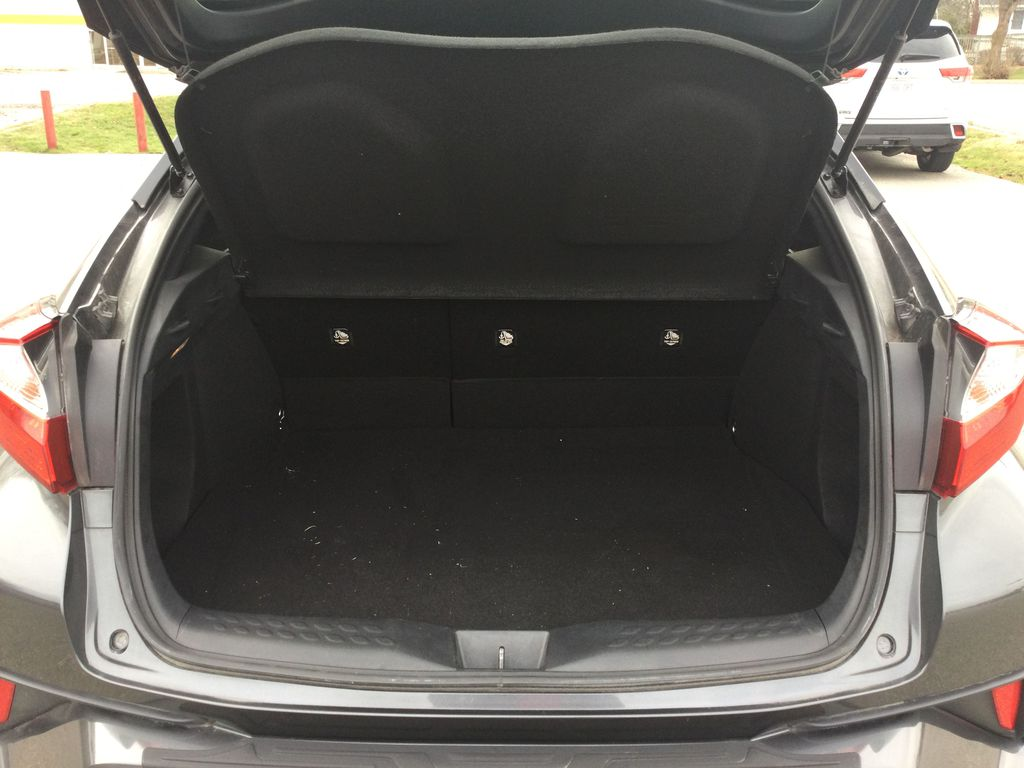 Gray[Magnetic Grey Metallic] 2019 Toyota C-HR Trunk / Cargo Area Photo in Brockville ON