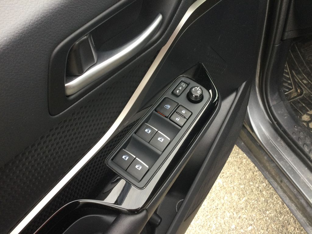 Gray[Magnetic Grey Metallic] 2019 Toyota C-HR  Driver's Side Door Controls Photo in Brockville ON