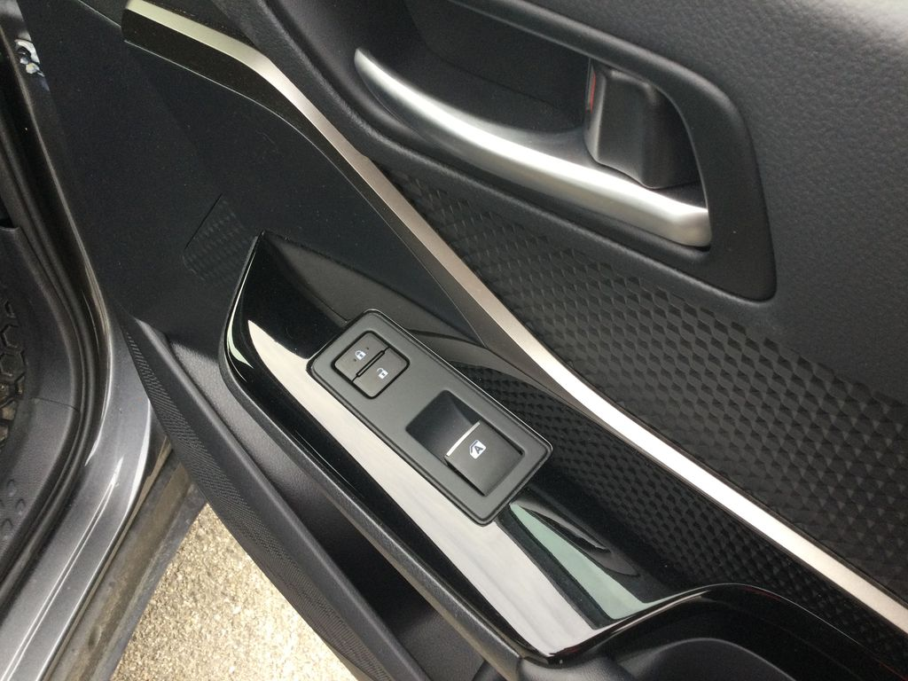 Gray[Magnetic Grey Metallic] 2019 Toyota C-HR Passenger Front Door Controls Photo in Brockville ON