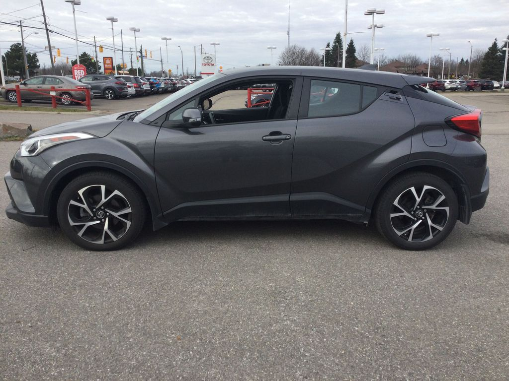 Gray[Magnetic Grey Metallic] 2019 Toyota C-HR Left Side Photo in Brockville ON