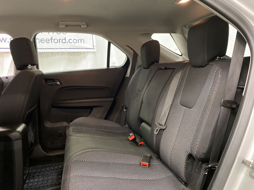 Silver[Silver Ice Metallic] 2017 Chevrolet Equinox Left Side Rear Seat  Photo in Dartmouth NS