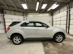 Silver[Silver Ice Metallic] 2017 Chevrolet Equinox Right Side Photo in Dartmouth NS
