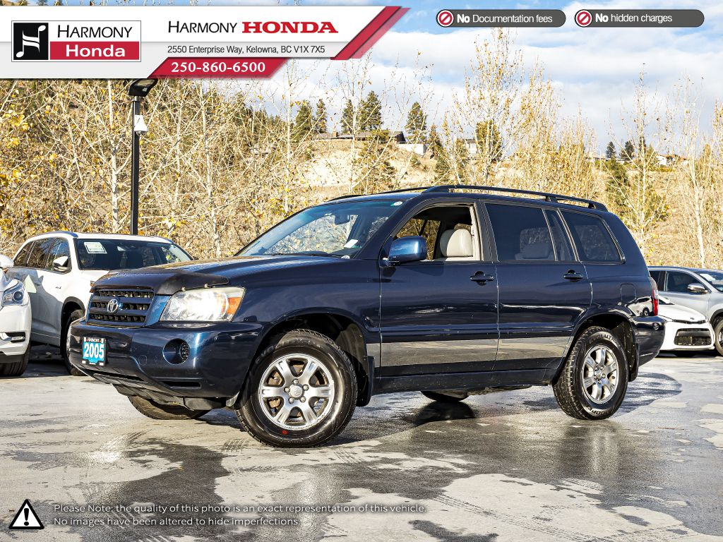 Blue - Bluestone Metallic 2005 Toyota Highlander