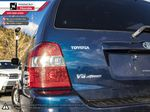 Blue - Bluestone Metallic 2005 Toyota Highlander Rear Seat Photo in Kelowna BC