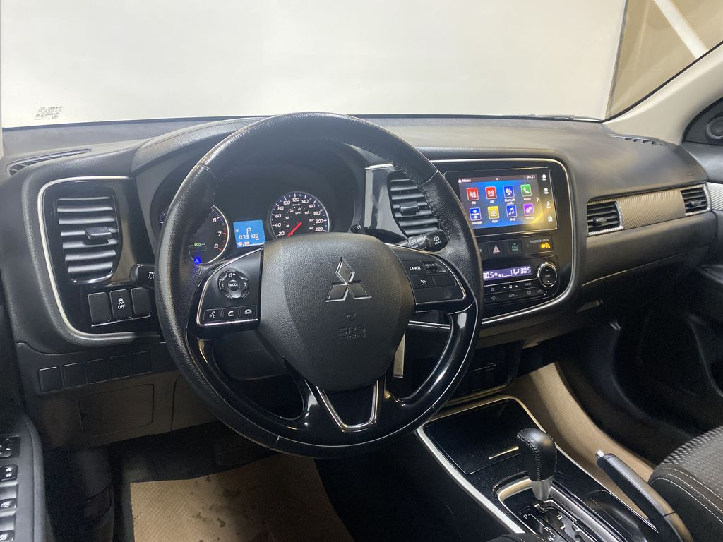 BLACK 2018 Mitsubishi Outlander ES - Bluetooth, Backup Cam, Heated Front Seats Steering Wheel and Dash Photo in Edmonton AB