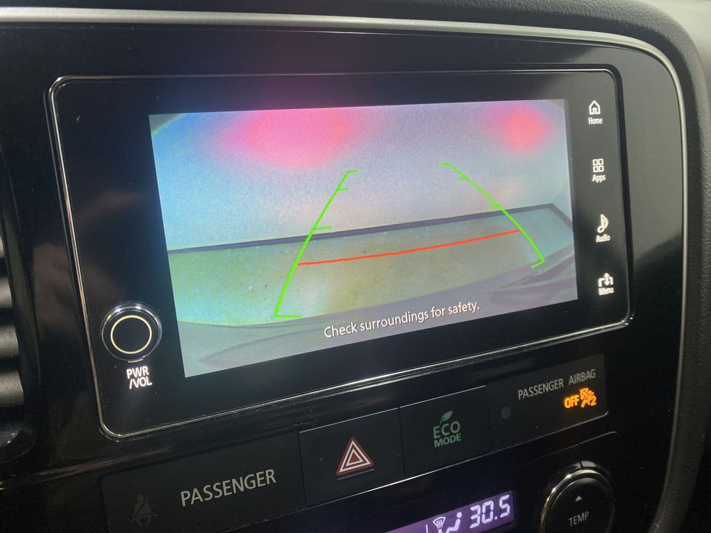 BLACK 2018 Mitsubishi Outlander ES - Bluetooth, Backup Cam, Heated Front Seats Backup Camera Closeup Photo in Edmonton AB