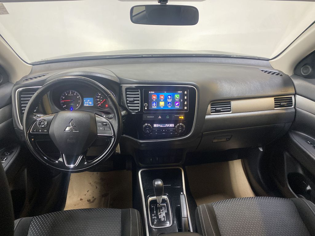 BLACK 2018 Mitsubishi Outlander ES - Bluetooth, Backup Cam, Heated Front Seats Strng Wheel/Dash Photo: Frm Rear in Edmonton AB
