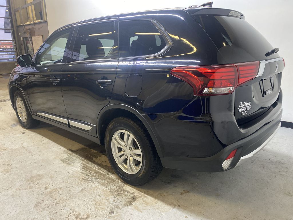 BLACK 2018 Mitsubishi Outlander ES - Bluetooth, Backup Cam, Heated Front Seats Left Rear Corner Photo in Edmonton AB