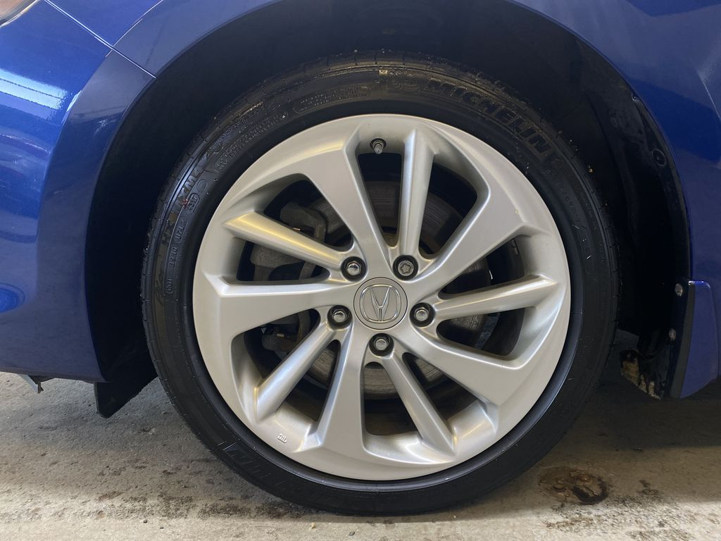 BLUE 2018 Acura ILX Tech - Bluetooth, NAV, Backup Camera Left Front Rim and Tire Photo in Edmonton AB