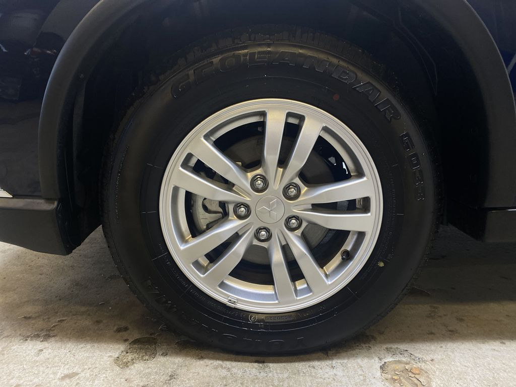 BLUE 2020 Mitsubishi Outlander ES - Backup Camera, Bluetooth, Heated Front Seats Left Front Rim and Tire Photo in Edmonton AB