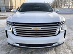 White[Iridescent Pearl Tricoat] 2021 Chevrolet Tahoe Front Vehicle Photo in Edmonton AB