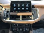 White[Iridescent Pearl Tricoat] 2021 Chevrolet Tahoe Central Dash Options Photo in Edmonton AB