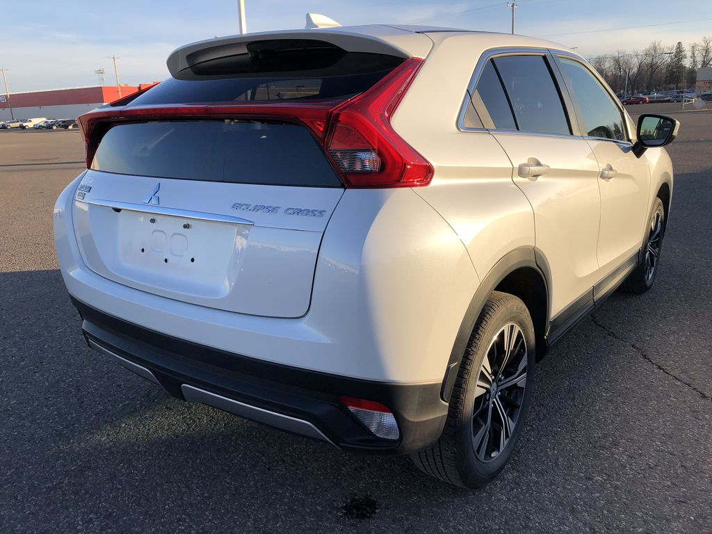 White 2019 Mitsubishi Eclipse Cross ES S-AWC *Back-Up Cam*Bluetooth*Heated Seats* Right Rear Corner Photo in Brandon MB