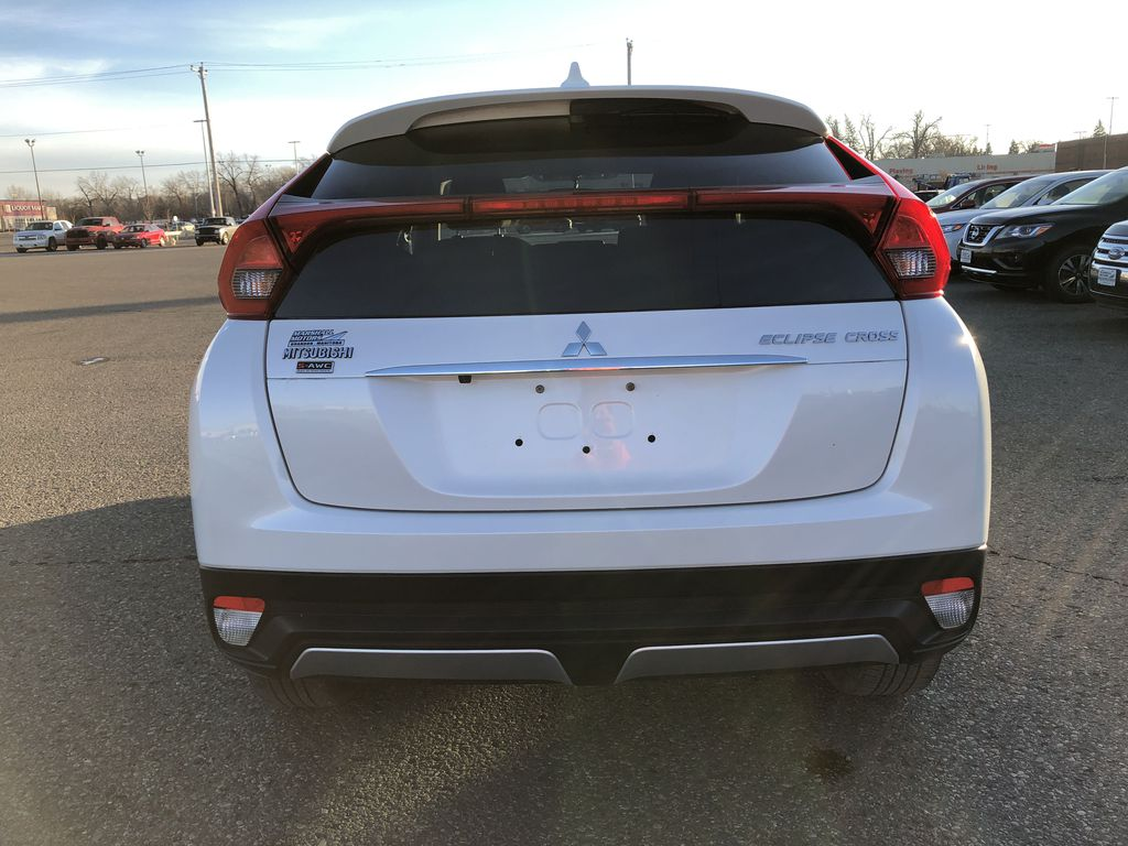 White 2019 Mitsubishi Eclipse Cross ES S-AWC *Back-Up Cam*Bluetooth*Heated Seats* Rear of Vehicle Photo in Brandon MB