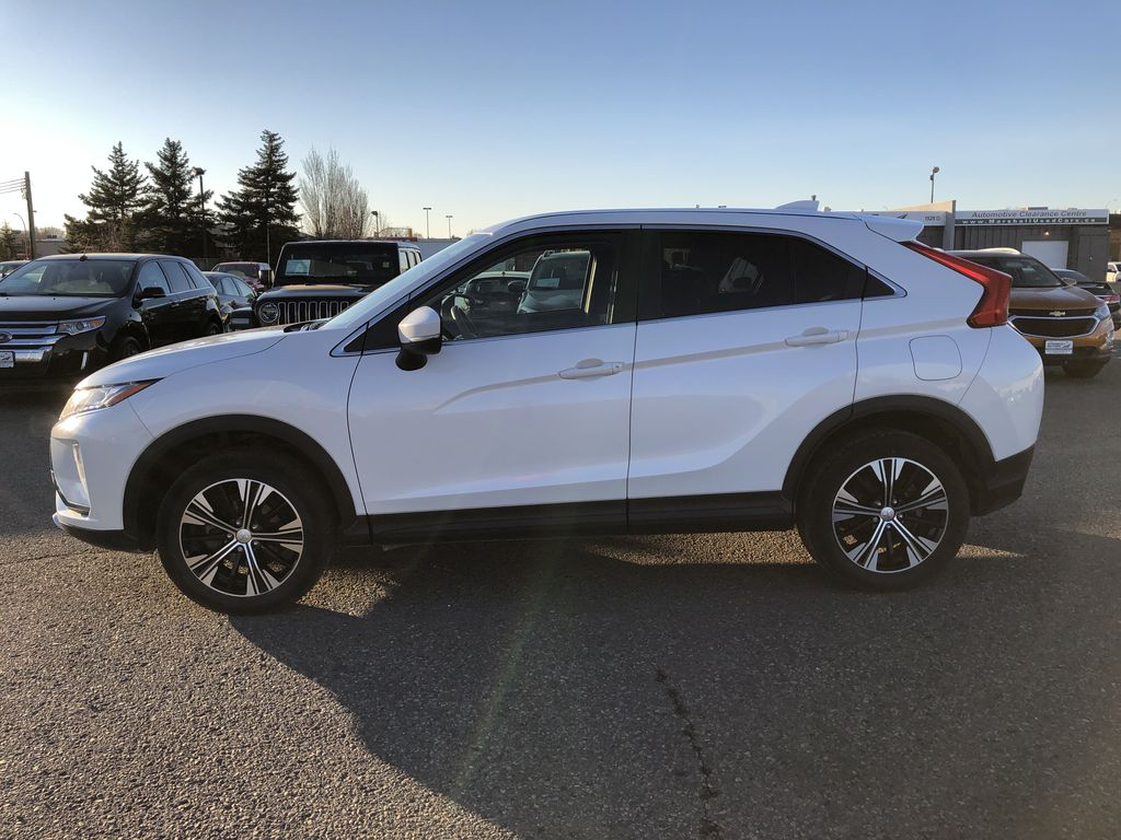White 2019 Mitsubishi Eclipse Cross ES S-AWC *Back-Up Cam*Bluetooth*Heated Seats* Left Side Photo in Brandon MB