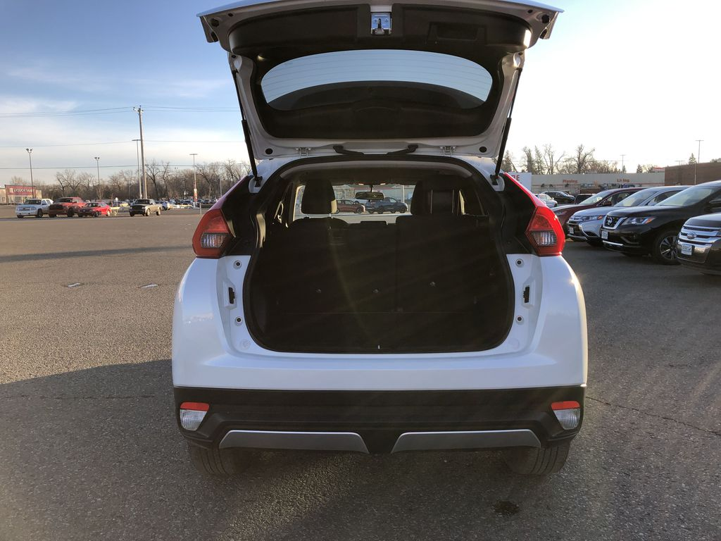 White 2019 Mitsubishi Eclipse Cross ES S-AWC *Back-Up Cam*Bluetooth*Heated Seats* Trunk / Cargo Area Photo in Brandon MB